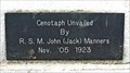 Image for Cenotaph Unvailed November 5, 1923 - Truro, NS