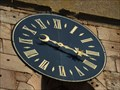 Image for Clock at the Bell Tower of Saint-Leon church Eguisheim  - Alsace / France