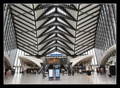 Gare de Lyon Saint-Exupéry (Railway station at Lyon-Saint Exupéry Airport) - Lyon