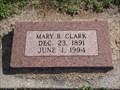 Image for 102 - Mary B. Clark - El Reno Cemetery - El Reno, OK