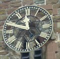 Image for Clock, the Old Church of St Peter & St Paul, Upton-upon-Severn, Worcestershire, England
