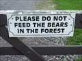Image for Do Not Feed The Bears! - Footpath near the A4085, North Wales, UK