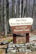 Image for Jakes Rocks Picnic Ground & Overlook - Allegheny National Forest - Clarendon, Pennsylvania