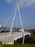 Image for Morfa Pedestrian Bridge -  Swansea, Wales, Great Britain.