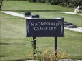 Image for MacDonald Cemetery - MacDonald MB