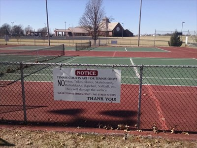 Tennis Courts at North Park Sports Complex, by MountainWoods