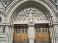 Image for Doorway of the Cathedral of the Madeleine - Salt Lake City Utah