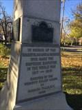 Image for WWI Obelisk Memorial - Niagara Falls, NY