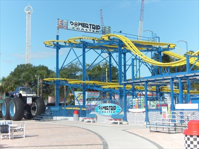 PowerTrip Coaster, Fun Spot USA, Kissimmee, Florida.