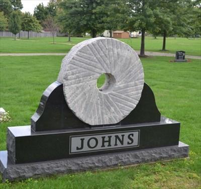 Johns Millstone - Girard Cemetery - Girard, PA Pic 1