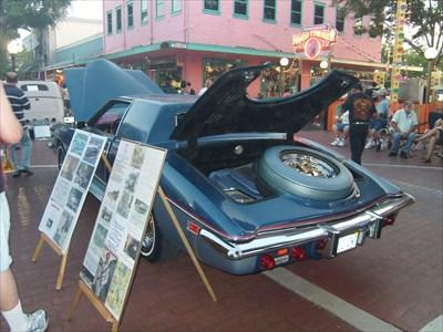 Saturday Nite Cruise, Old Town, Kissimmee, Florida.
