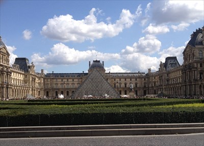 Louvre in Paris, 2014