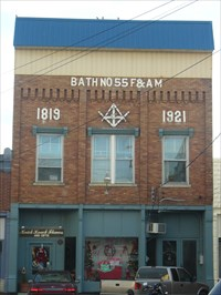 Bath Lodge #55 F&AM - Owingsville, KY - Masonic Temples on