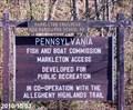Image for Great Allegheny Passage - Markleton Trailhead - Markleton, Pennsylvania