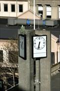 Image for John Wickcliffe House Clock — Dunedin, New Zealand