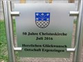 Image for Christuskirche - 50 years - Ergenzingen, Germany, BW