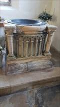 Image for Baptism Font - All Saints - Coleby, Lincolnshire