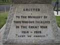 Image for Belmont War Memorial - Victoria, Australia