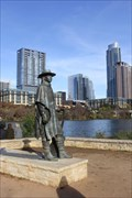 Image for Austin from Stevie Ray Vaughn Statue -- Austin TX