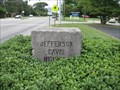 Image for Jefferson Davis Highway Marker - Montgomery, Alabama