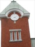 Image for L'Horloge de l'Hôtel de Ville.  -Louiseville.  -Québec.
