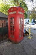 Image for Red Telephone Box - Canonbury Square, London, UK