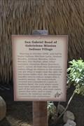 Image for Gabrileno Mission Indians Village -- San Gabriel Archangel Mission, San Gabriel CA