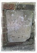 Image for War Department Boundary Marker #6 - North Military Road, Dover, Kent, CT17 9BQ.