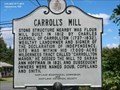 Image for Carroll's Mills