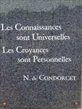 Image for Nicolas de Condorcet - Place de la laïcité - Dierre (Centre, France)