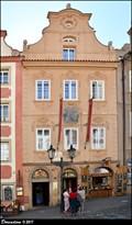 """Image for Dum U zeleného raka / House """"At the Green Crayfish"""" - Nerudova ulice (Prague)"""