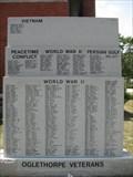 Image for Oglethorpe County Veterans Memorial - Lexington, GA