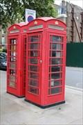 Image for Red Telephone Boxes - Paddington Green, London, UK