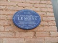 Image for Plaque bleue Sir James MacPherson LeMoine