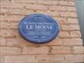 Image for Plaque bleue Sir James MacPherson LeMoine