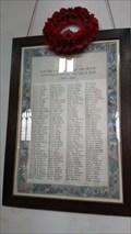 Image for Roll of Honour - St John the Baptist - Somersham, Cambridgeshire
