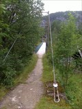 Image for Suspension foot bridge accross Otra River - Bykle, Norway
