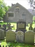 Image for William Wordsworth's grave in Grasmere, Cumbria