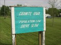 Image for Granite, IA - Population Low