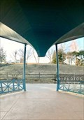 Image for Wilcox Park Bandstand gazebo - Westerly, Rhode Island  USA