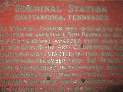 Terminal Station - Chattanooga, Tennessee