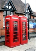 Image for Henley Street phone boxes, Stratford upon Avon, UK