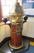 Image for Binnacle from the SS Terra Nova - Pierhead, Cardiff Bay, Wales.