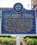 Image for The Blues Trail - Historic Marker - Memphis, Tennessee, USA.