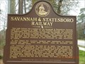 Image for Savannah - Statesboro Railway