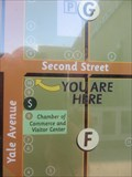 """Image for Downtown Claremont """"You are here"""" - Claremont, CA"""