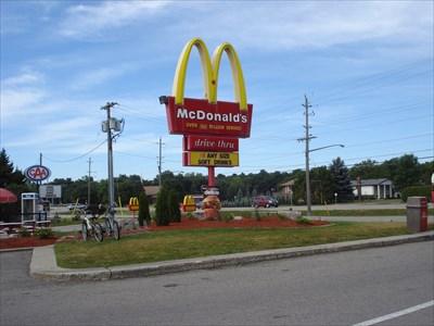 Mcdonald S Elmira Ontario Canada Restaurants On Waymarking