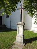 Image for Churchyard Cross - Moravské Knínice, Czech Republic