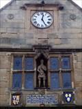 Image for Old Market Hall Clock - Shrewsbury, Shropshire, UK.