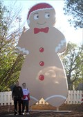 Image for World's Largest Permanent Gingerbread Man - Smithville, TX